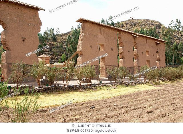 Raqchi, Worth Sacred of Los Incas, Region of Cusco, Lima, Peru