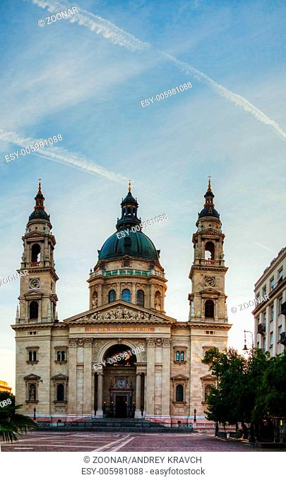 St. Stefan basilica in Budapest, Hungary