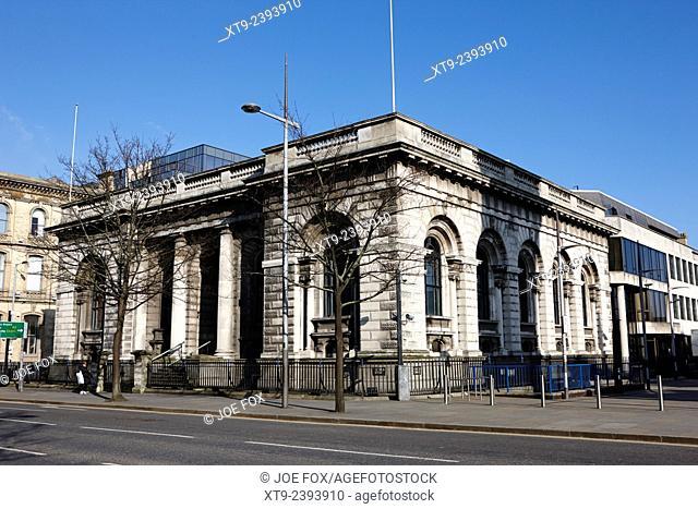 former northern bank head office victoria street Belfast Northern Ireland uk