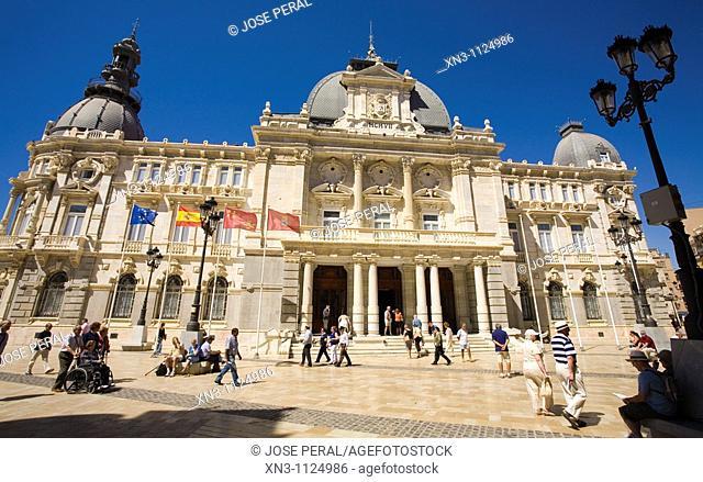 Town hall, Cartagena, Costa Calida, Spain