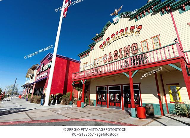 Terrible Town Casino, Parhump, Nevada, USA