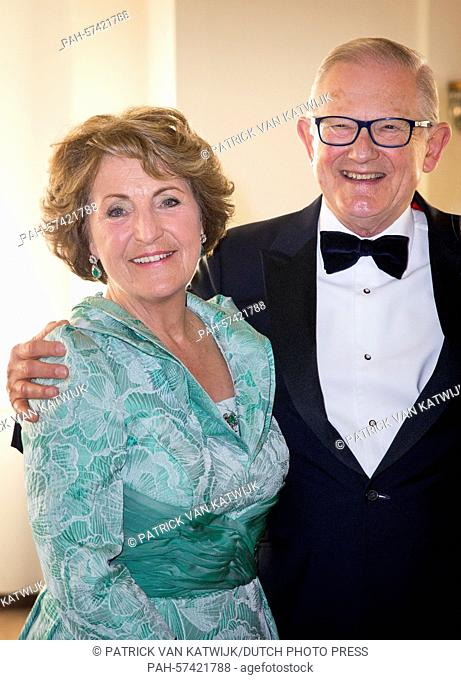 Princess Margriet and her husband Pieter van Vollenhoven attend the Night of the Stars Gala at the Kurhaus in Scheveningen, The Netherlands, 13 April 2015