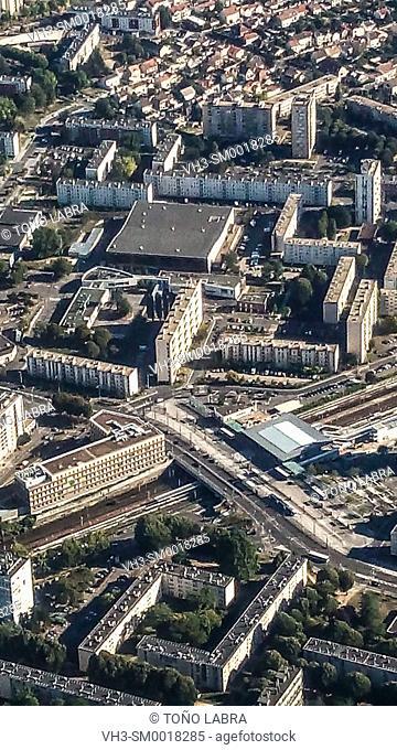 Paris Aerialview. France
