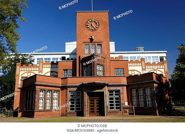 headquarters of the Technicians Health Insurance Bramfelder street in Hamburg, Germany, Europe