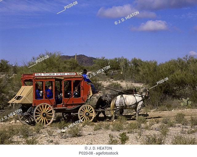 USA. Arizona. Tucson old town