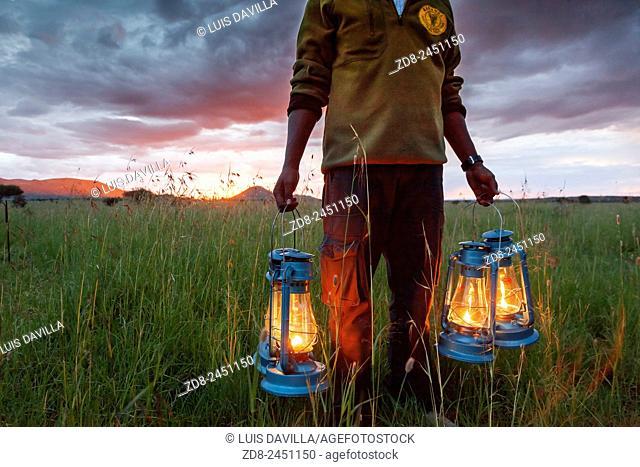kananga camp. serengeti national park