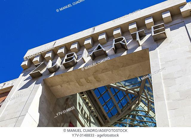 Centro comercial Zubiarte. Bilbao, Basque Country, Spain