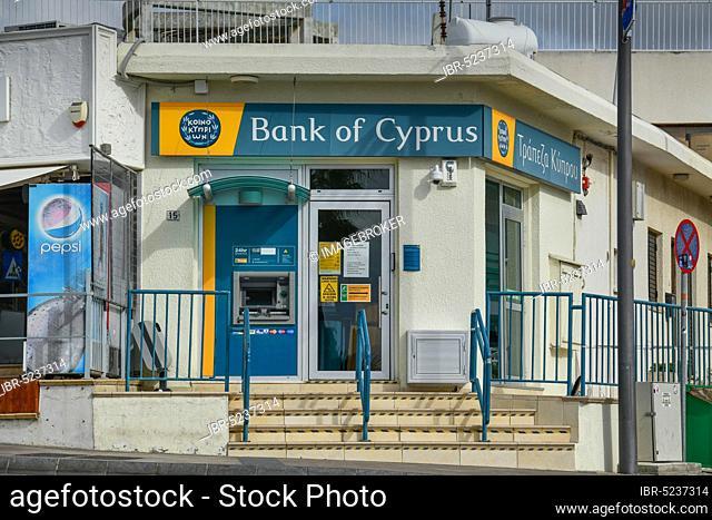 Bank of Cyprus, Agia Napa, Republic of Cyprus