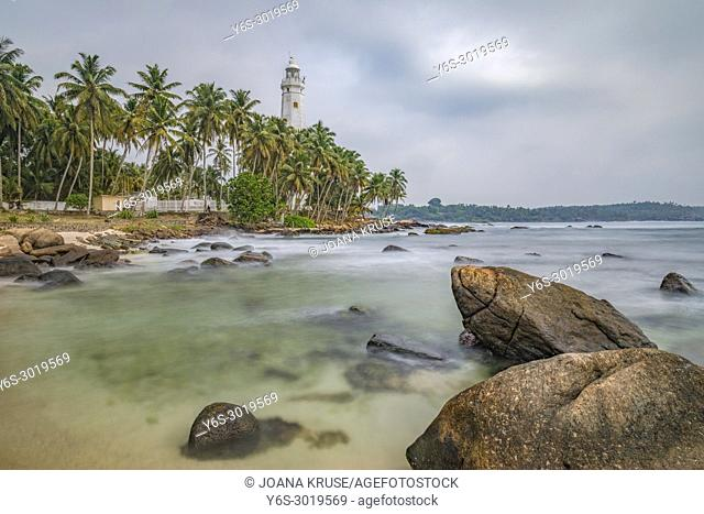 Dondra Head Lighthouse, Dondra, Sri Lanka, Asia