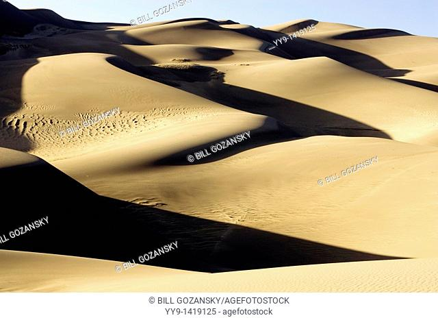 Dunescape - Great Sand Dunes National Park and Preserve - near Mosca, Colorado