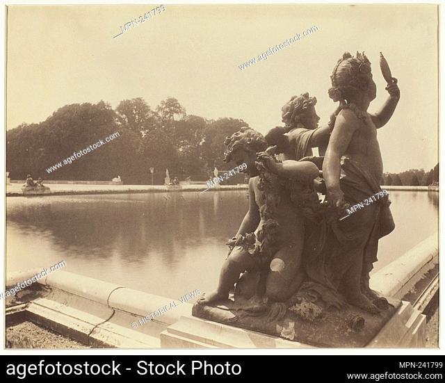 Versailles, Bassin de Midi - 1901 - Jean-Eugène-Auguste Atget French, 1857–1927 - Artist: Jean-Eugène-Auguste Atget, Origin: France, Date: 1901