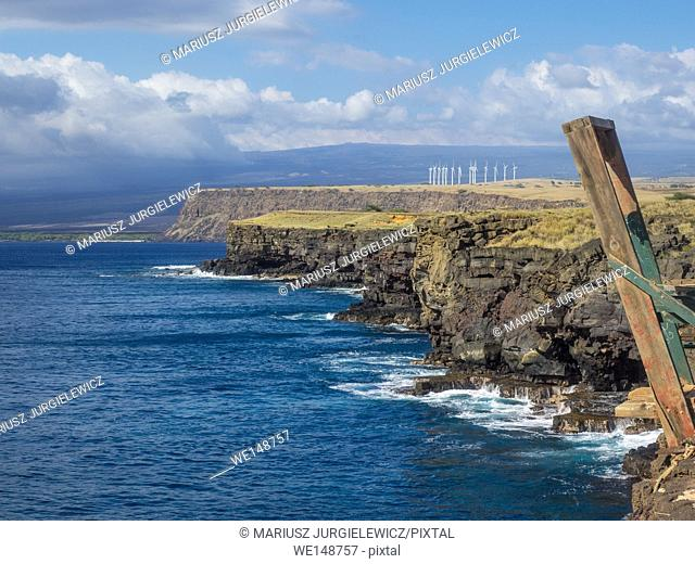 Ka Lae is the southernmost point of the Big Island of Hawaii and of the 50 United States