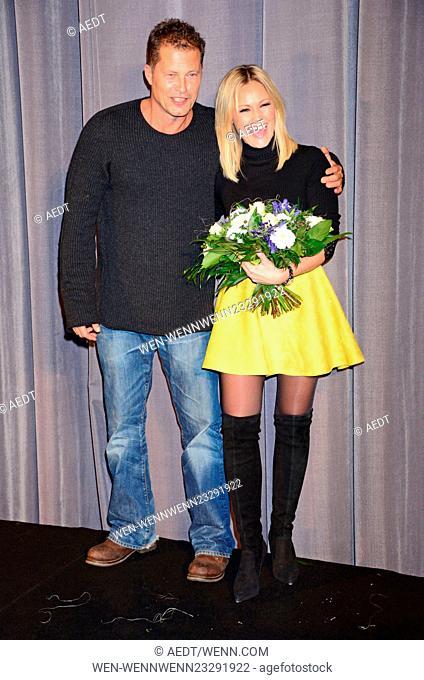 Premiere 'Tatort - Der grosse Schmerz' at Kino Babylon. Featuring: Til Schweiger, Helene Fischer Where: Berlin, Germany When: 16 Dec 2015 Credit: AEDT/WENN