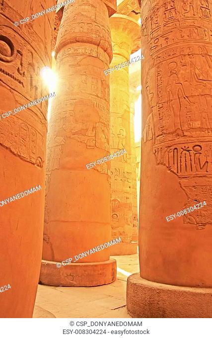 Great Hypostyle Hall, Karnak temple complex, Luxor