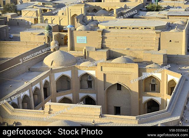 Uzbekistan, Khorezm, Khiva, Unesco World Heritage Site, Old city of Itchan Qala, Caravanserai