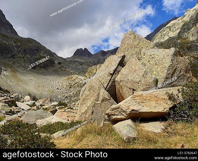 Remuñe valley, Pyrenees, Benasque, Aragón, Spain