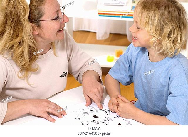 CHILD IN SPEECH THERAPY Models