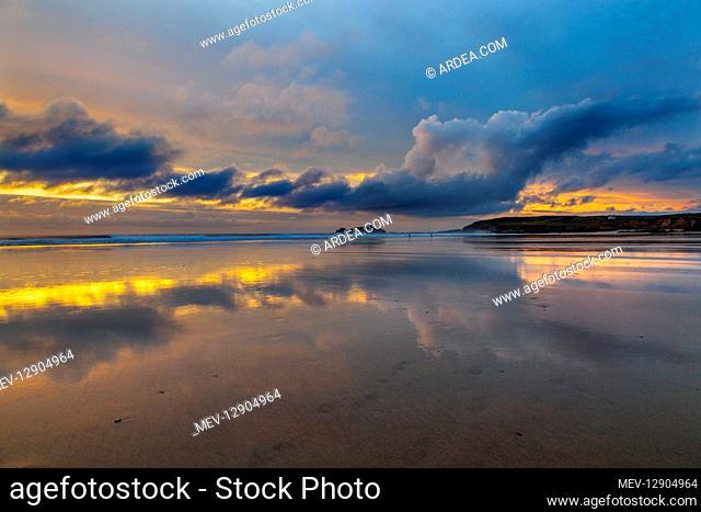 Godrevy Sunset - Cornwall - UK