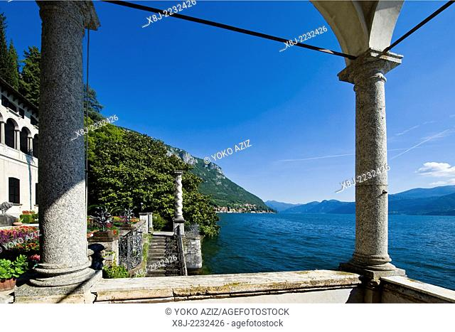 Italy, Lombardy, Varenna, Villa Monastero
