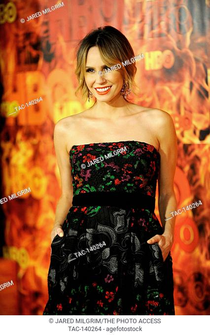 Keltie Knight attends HBO's 2015 Emmy After Party at the Pacific Design Center on September 20th, 2015 in Los Angeles, California