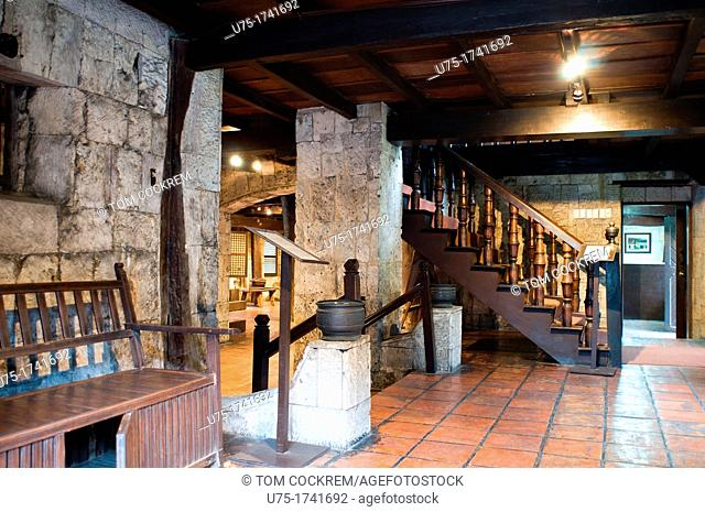 Casa Gorordo interior, Parian, Cebu City, Philippines