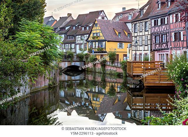 Petite Venice, Colmar, Alsace, France, Europe