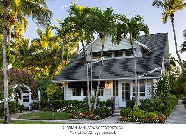 Dupont family cottage in Naples, Florida, USA