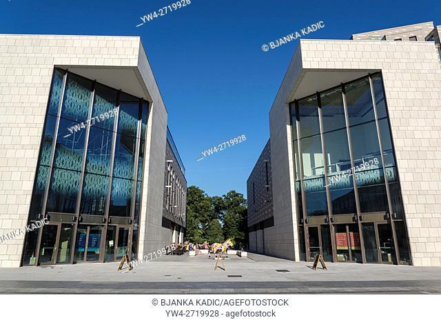 Newly developped Cultural Quarter, Arts Quarter Guildhall Square, , Southampton, Hampshire, England, UK