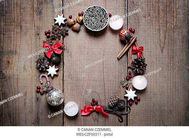 Christmas decoration, advent wreath