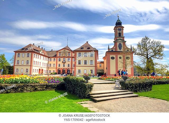 castle Mainau, Flower Island, Lake Constance, Baden-Wurttemberg, Germany