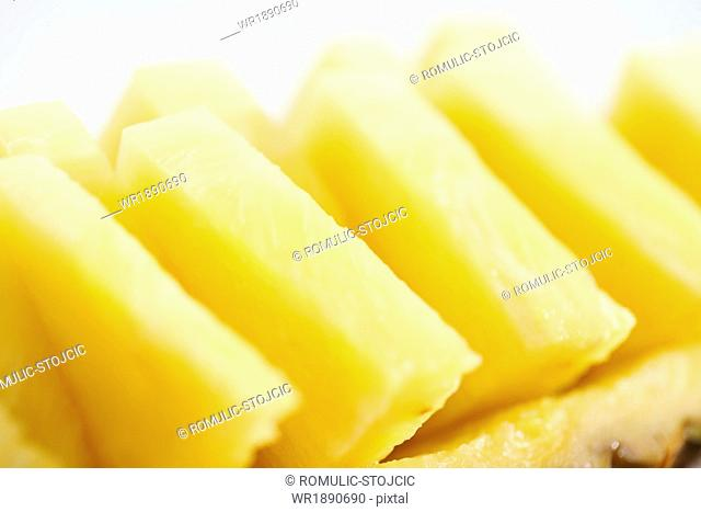 Pineapple Slices, close-up