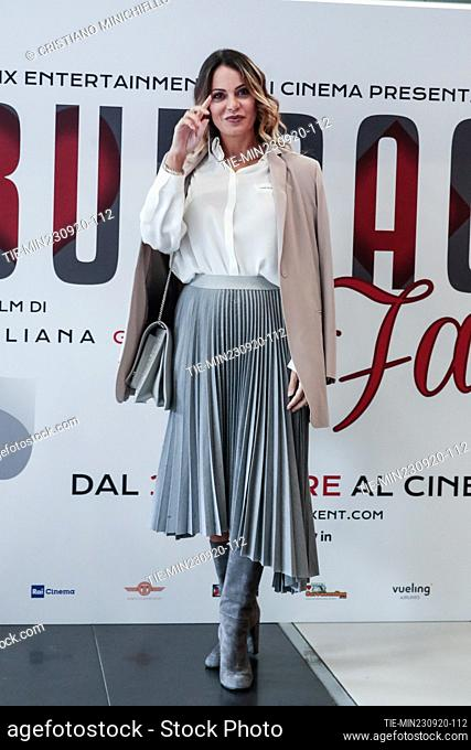 Morena Gentile during the photocall, Rome, ITALY-23-06-2020