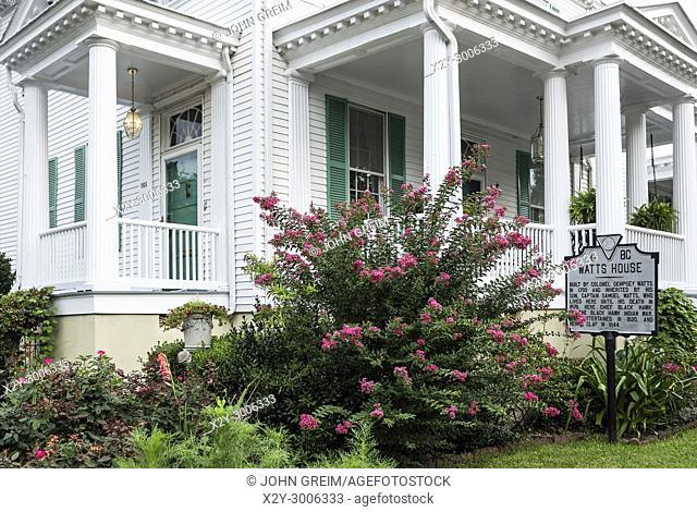 Historic Watts House, Portsmouth, Virginia, USA