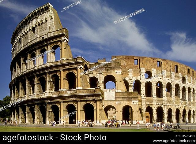 The Colisseum. Rome. Italy