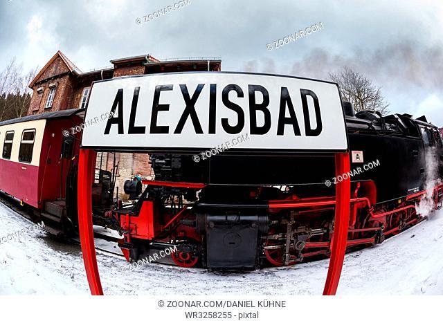 Bahnhof Alexisbad Harz