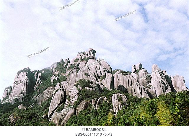 Taimu Mountain, Fuding County, Fujian Province of People's Republic of China