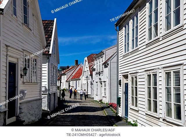 Stavanger- Houses of Gamle Old TownLocated on the Stavanger Peninsula in Southwest Norway, Stavanger counts its official founding year as 1125