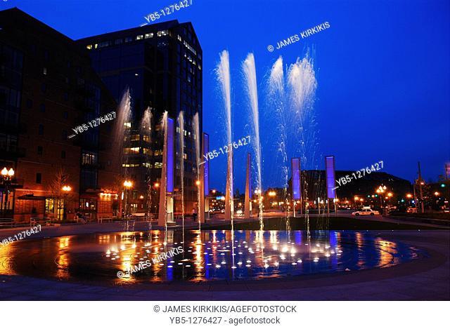 Fountain of Rings, Boston, MA