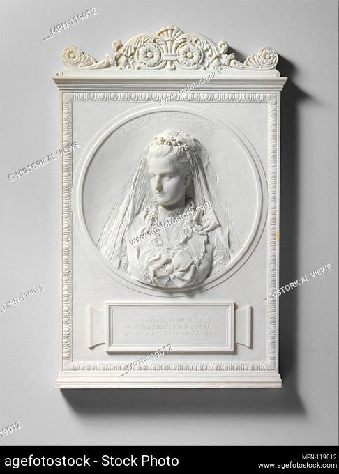 Louise Adele Gould. Artist: Augustus Saint-Gaudens (American, Dublin 1848-1907 Cornish, New Hampshire); Date: 1893, carved 1894; Medium: Marble; Dimensions: 40...