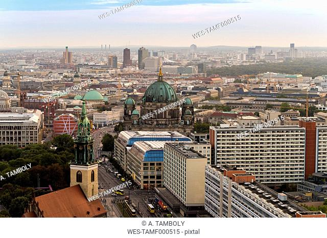 Germany, Berlin, city view with Berliner Dom