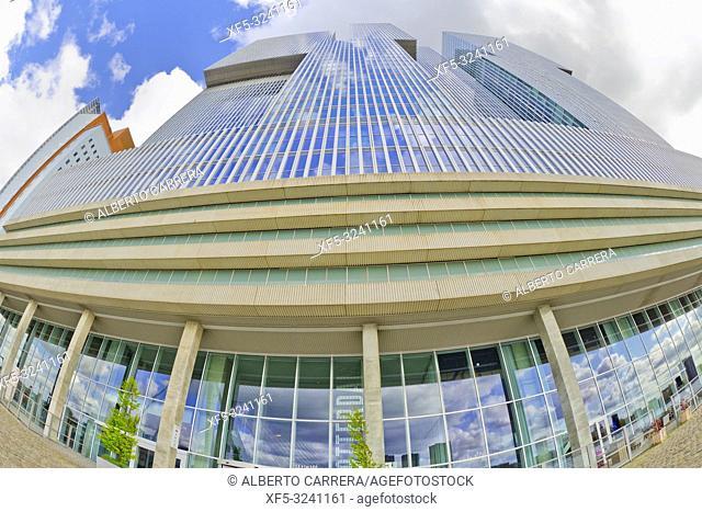 Modern Architecture, Rotterdam, Holland, Netherlands, Europe