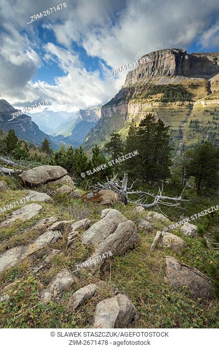 Ordesa y Monte Perdido National Park near Torla, Huesca, Aragon, Spain