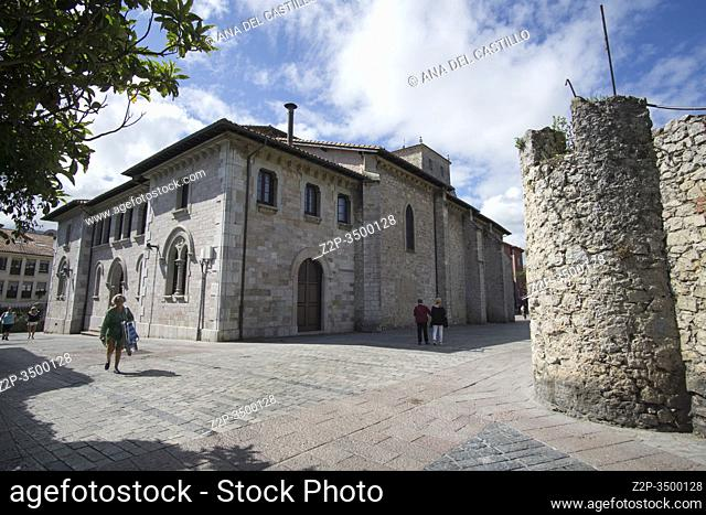 Llanes Asturias Spain Llanes is one of the most beautiful towns in Spain. Gastanaga palace