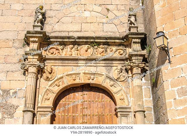 San Mateo church, XVIth Century, Caceres, historical downtown, Unesco World Heritage, Patrimonio de la Humanidad, Caceres, Extremadura, Spain