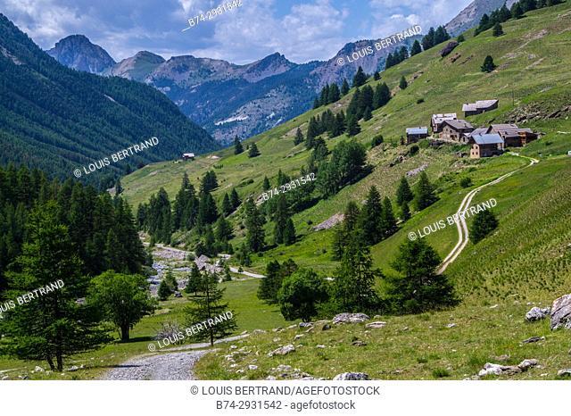 queyras regional park. France