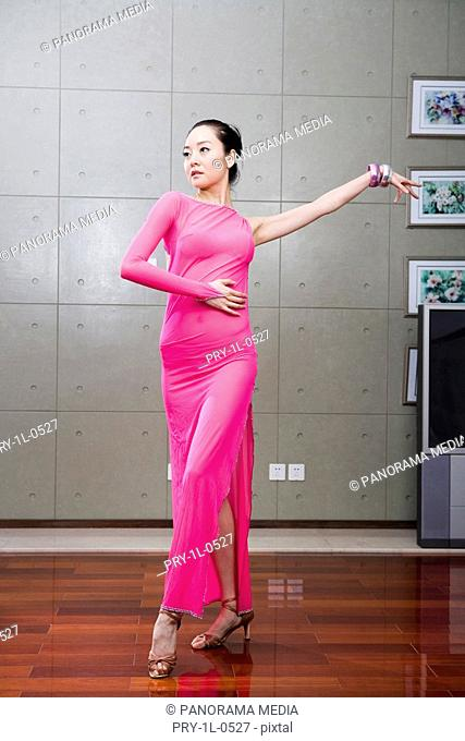 a female dancer