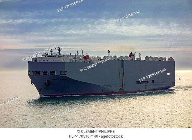 Nippon Highway, vehicles carrier / cargo ship sailing