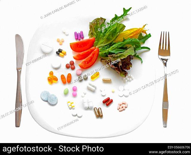 Food Supplements vs Healthy Diet