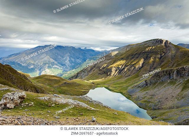 Sierra de Tendeñera near Panticosa, Pyrenees mountains, Huesca, Aragon, Spain