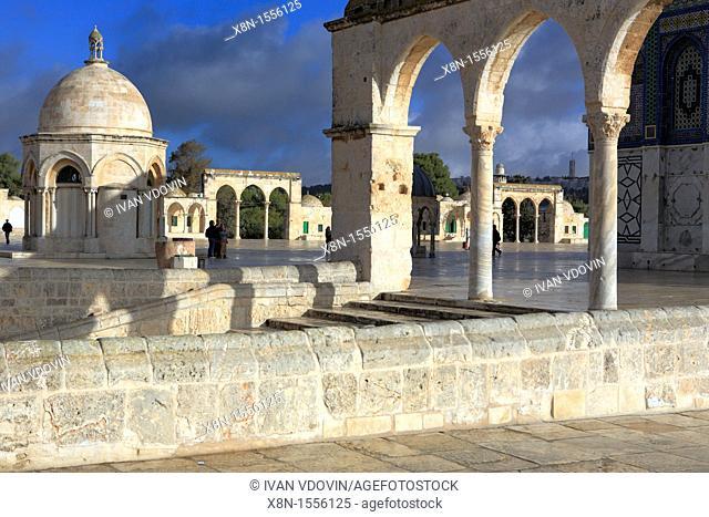 al Aqsa mosque 11th century, Jerusalem, Israel